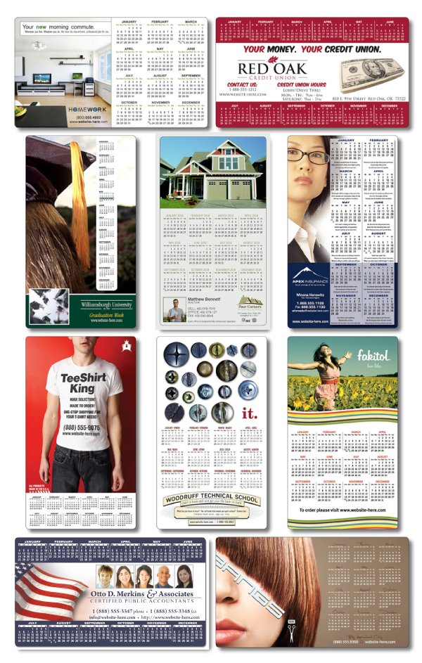 Custom Calendar Magnets Put Your Logo to Work 365 Days a Year