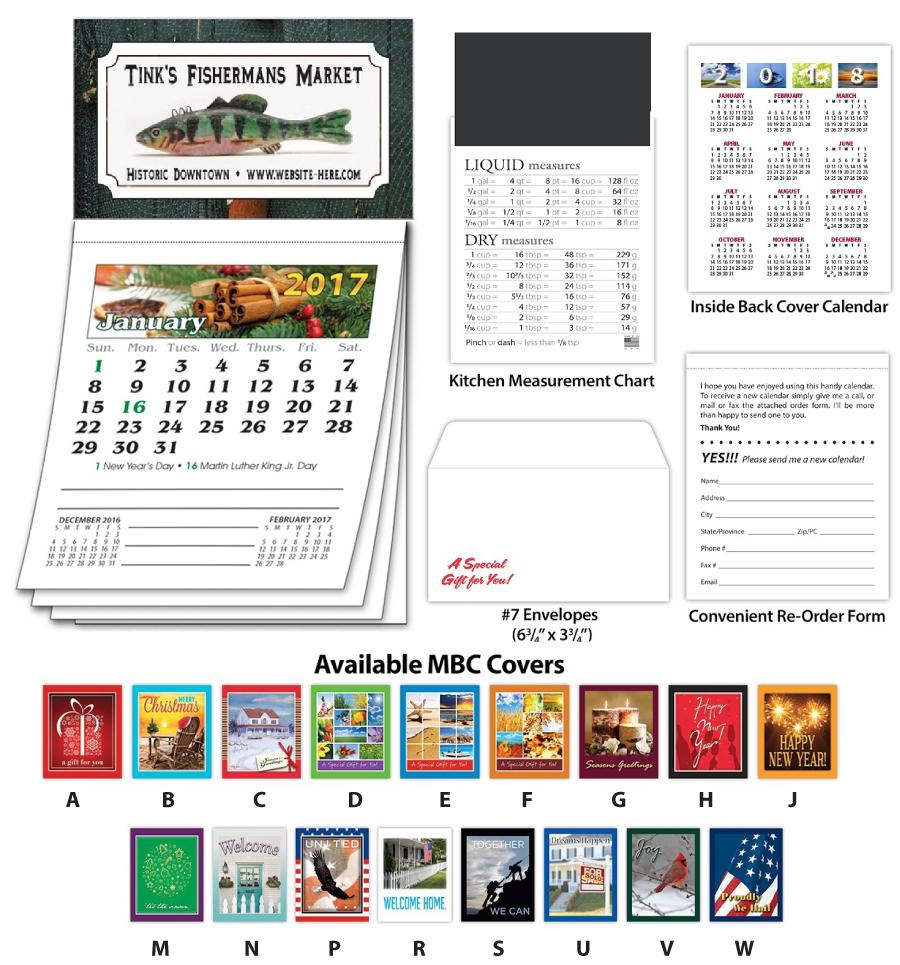Magna-Cal Business Card Magnet Calendar
