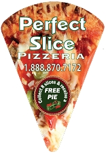 Pizza Slice Magnet - (EXTRA-LARGE) - 4