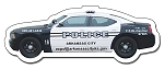 Police Car Shape Magnet - 4.5