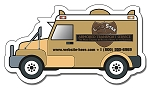 Armored Truck Shape Magnet  - 4