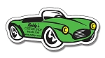 Convertible Car Shape Magnet  - 4.875