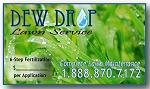 Business Card Magnet - Outdoor Magnet for Landscapers