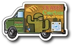 Food Truck Magnet - 4