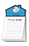 Magna-Pad House Shape Magnet - Things To Do (50 Sheets)