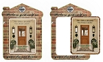 House Shape Picture Frame Magnet - 4.3