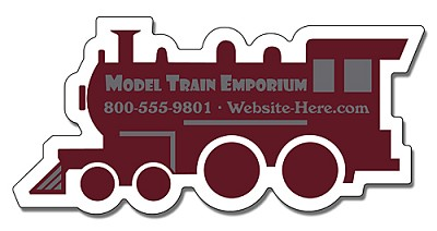 Train Engine / Locomotive Shape Magnet - 4