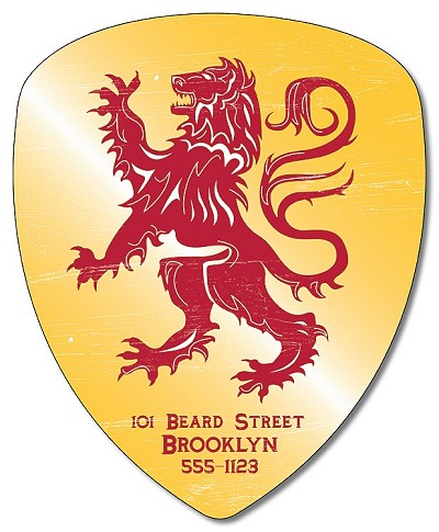 Badge / Crest / Shield Shape Magnet - 4