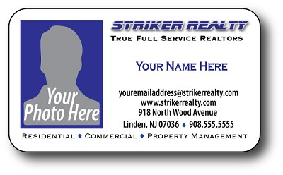 1000 Striker Business Card Magnets - $99